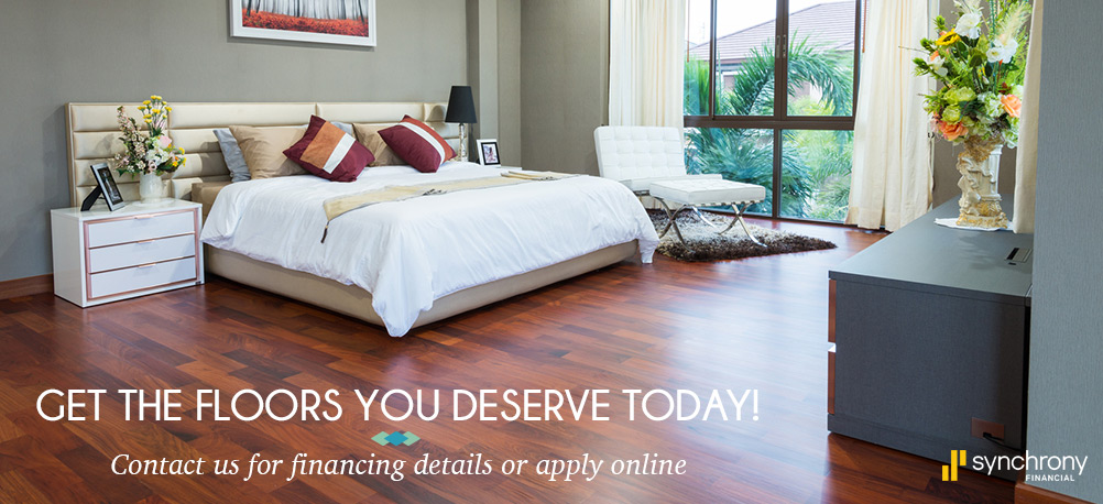 Get the floors you deserve today | Contact us for financing details or apply online | Synchrony Financial