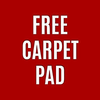 Free Pad with Purchase of Carpet