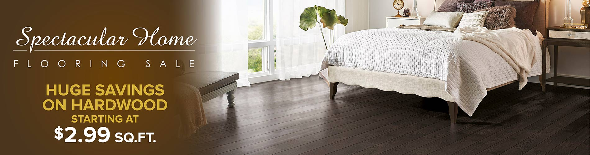 Huge Savings on Hardwood Flooring - Starting at $2.99 SQ. FT. at Murley's Floor Covering LLC!