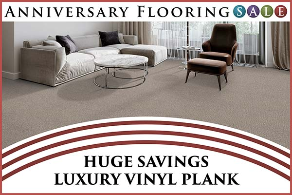 Anniversary sale going on now!  Huge savings on luxury vinyl plank only at Murley's Floor Covering in Kennewick, Washington